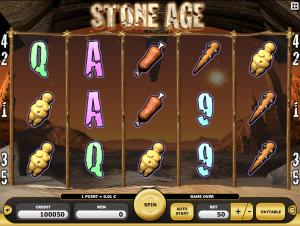 Stone Age Online Slot Machine