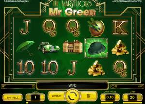 The Marvellous Mr. Green  Online Slot
