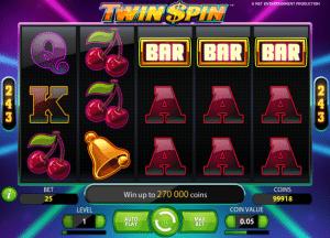 Twin Spin Online Slot Machine