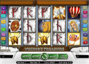 Vikings Treasure Online Slot Machine
