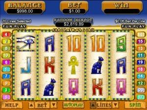 Cleopatra´s Gold Online Slot