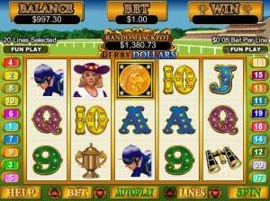 Derby Dollars Online Slot Machine
