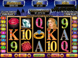 Online Diamond Dozen Slot Machine