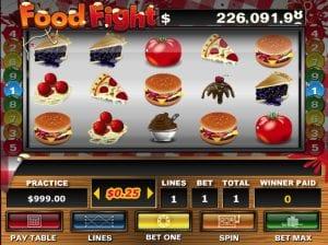 Online Food Fight Slot