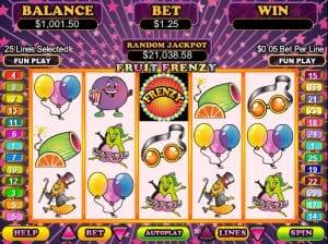 Fruit Frenzy Online Slot Machine