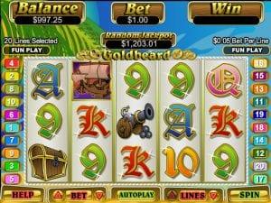 Goldbeard Online Slot