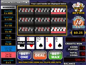 Videopoker Online Joker Poker-3 Hand