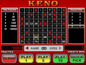 Videopoker Online Keno