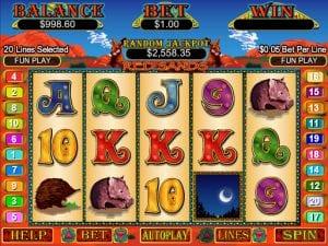 Online Red Sands Slot Machine
