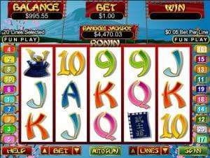 Ronin Online Slot Machine