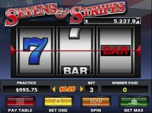 Sevens and Stripes Online Slot