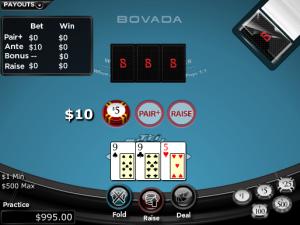 Tri Card Poker Online