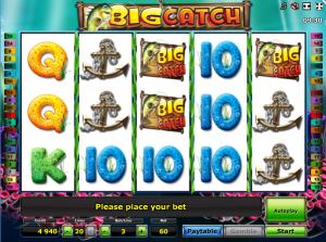 Online Slot Machine Big Catch
