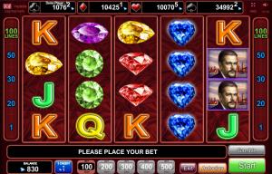 Online Slot Machine Blue Heart