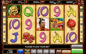 Online Slot Machine Dragon Reels