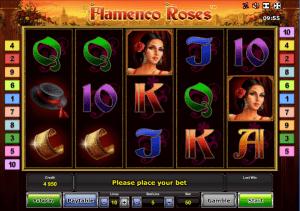 Online Slot Flamenco Roses