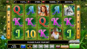 Online Slot Machine Fortune Spells