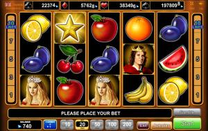 Online Slot Machine Fruits Kingdom