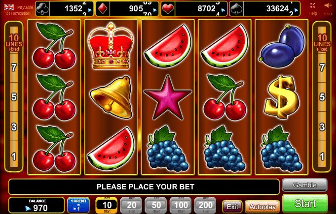 Royal Crown Slot Machine