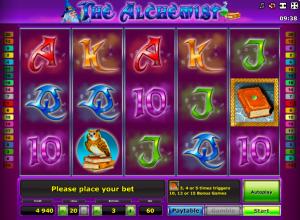 Online Slot Machine The Alchimist