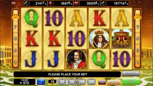 Online Slot Varsailles Gold