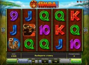 Online Slot Machines African Simba