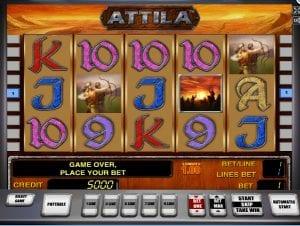 Online Slot Machine Attila