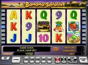 Online Slot Machines Banana Splash