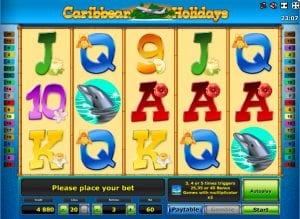 Online Slot Machines Carribean Holidays