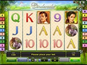 Online slot Cindereela Machine