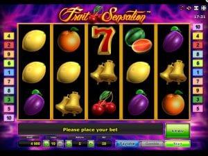 Online Slot Machine Fruit Sensation