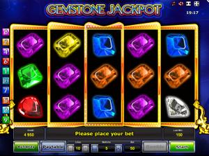 Online Slot Machine Gemstone Jackpot