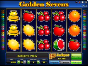 Online Slot Machine Golden Sevens