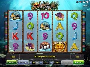 Online Slot Orca Machine
