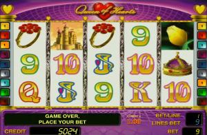 Online Queen of Hearts Slot Machine