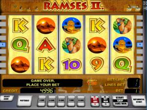 Online Slot Machines Ramses II