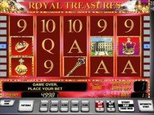 Online Slot Machines Royal Treasures