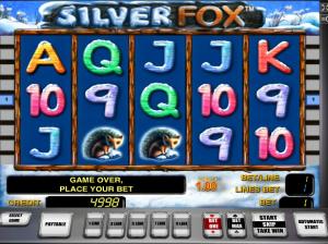 Online Silver Fox Slot Machines