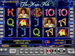 Online Slot Machines The Magic Flute