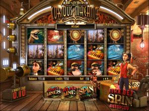 Online Miles Bellhouse Curious Machine Slot