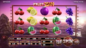 Online Slot Machines Fruit Zen
