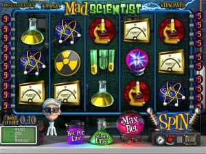 Online Mad Scientist Slot