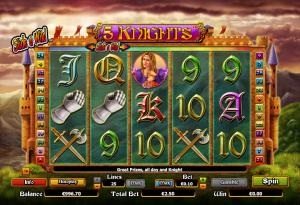 Online Slot Machine 5 Knights
