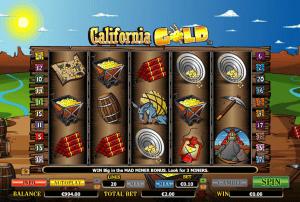 Online California Gold Slot