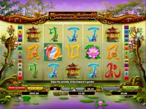 Online Emperors Garden Slot Machine