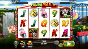 Online Slot Pandamania Machine