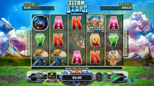 Online Slot Machine Titan Storm