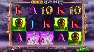 Online Cash Stampede Slot