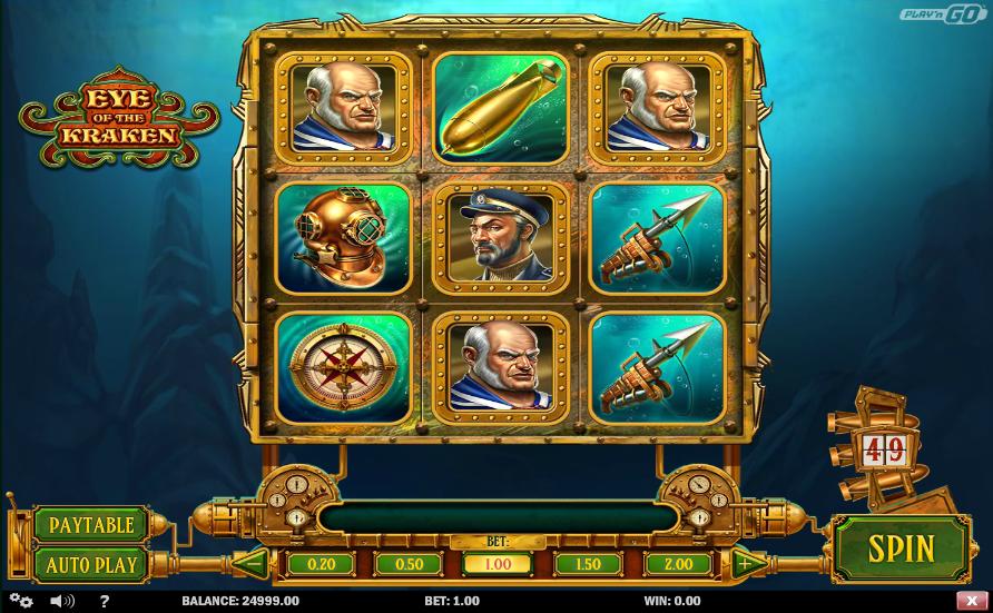 Eye of The Kraken Slot Machine