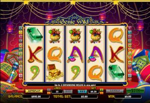 Genie Wild Online Slot
